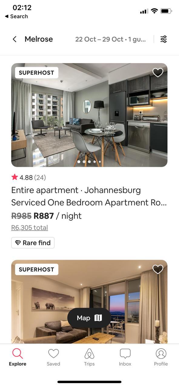 Airbnb Management app Johannesburg